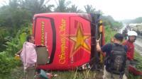 Bus Sempati Star Kecelakaan di Jalinsum, 3 Orang Tewas dan 11 Luka-luka