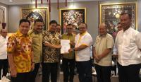 Halal Bihalal, Airlangga Jaga Solidaritas dengan DPD Golkar Se-Jambi