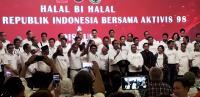 Di Hadapan Aktivis 98, Jokowi Kembali Tegaskan Tidak Punya Beban
