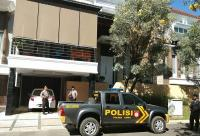 Polisi Jaga Ketat Rumah Pribadi Wakil Ketua MK di Gowa
