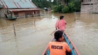 Sungai Mentaya Meluap, 332 Rumah Kebanjiran