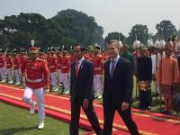 Jokowi Sambut Baik Rencana Kerja Sama Teknologi di Bidang Pertanian dengan Argentina