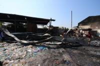 Mesin Meledak, Pabrik Pengolah Limbah Plastik Pucangsawit Solo Terbakar