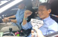 Menanti Keputusan MK, Prabowo, Sandiaga hingga Pimpinan Parpol Koalisi Tiba di Kertanegara