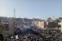 Kebakaran di Palembang, 106 Rumah Warga Ludes Dilalap Api