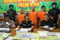 Polisi Gagalkan Penyelundupan Sabu 10 Kg Asal Malaysia