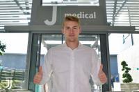 Jalani Tes Medis Bersama Juventus, De Ligt Tiba di J-Medical