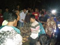 Mayat Kakek Terbakar di Hutan Jati Gegerkan Warga Rembang