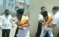Viral Pengamanan Jamaah Haji Asal Indonesia yang Diduga Tersesat Berlangsung Dramatis