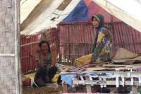 Kodim 0510/Tigaraksa Bedah Gubuk Reyot, Ibu Jamro seperti Sedang Bermimpi