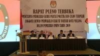 KPU Tetapkan 45 Caleg DPRD Kota Malang Pada Pileg 2019, Berikut Deretan Namanya