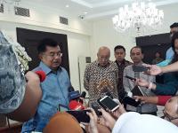 JK Yakin Pertemuan Prabowo, Jokowi, Megawati Bukan untuk Negosiasi
