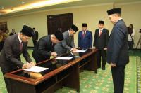 Menag Lantik Hamdan Juhannis sebagai Rektor UIN Alauddin Makassar