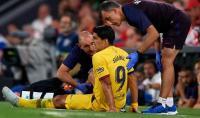 Barcelona Konfirmasi Luis Suarez Alami Cedera Pada Betis Kanan
