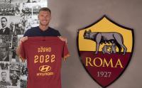 Resmi Perpanjang Kontrak dengan Roma, Dzeko Pupuskan Harapan Inter