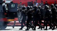 Pelaku Penyerangan 2 Polisi di Mapolsek Wonokromo Dibawa Densus 88