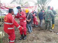 Di Tengah Padamkan Kebakaran, Satgas Karhutla Riau Ikut Meriahkan HUT RI