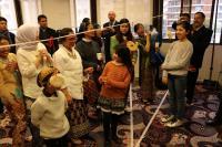 Hujan Deras dan Cuaca Dingin Tak Hilangkan Kemeriahan Peringatan HUT ke-74 RI di Buenos Aires