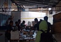 Ruang Bawah Tanah Polda Metro Jaya yang Terbakar Dipasangi Garis Polisi