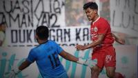 Persija Unggul 1-0 atas Kalteng Putra di Babak Pertama
