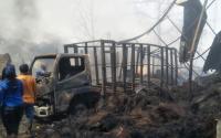 Kebakaran Pabrik Ijuk di Cianjur, 3 Rumah & Bengkel Ikut Terbakar