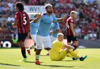 Aguero Cetak Gol Ke-400 saat Man City Tumbangkan Bournemouth 3-1