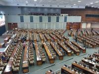 299 Anggota Dewan Hadiri Rapat Paripurna Pengesahan Pimpinan KPK