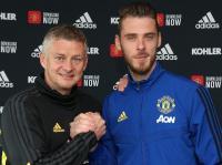 Resmi! De Gea Perpanjang Kontrak di Manchester United