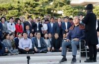 Menteri Kehakiman Korsel Diduga Korupsi, Oposisi Protes Cukur Rambut