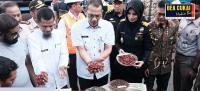 Bea Cukai Ternate Laksanakan Ekspor Perdana Komoditas Fully Pala
