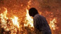 Angin Kencang Picu Api Berkobar Lagi di Gunung Merbabu