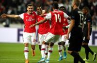 Arsenal Ungguli Frankfurt di Babak Pertama