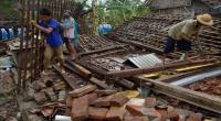 Terjangan Puting Beliung Rusak 28 Rumah Warga Deliserdang