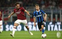 Milan dan Inter Masih Sama Kuat di Babak Pertama