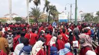 Aksi Gejayan Memanggil, Ratusan Mahasiswa Mulai Bergerak Tinggalkan Kampus