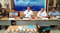 Penyelundupan 5,5 Kilogram Sabu di Bandara Adi Sutjipto Yogyakarta Digagalkan