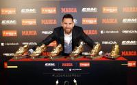 2 Anak Messi Rebutan Trofi Sepatu Emas Eropa