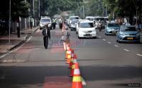 Jelang Pelantikan Presiden, Polisi Alihkan Arus Lalu Lintas di Sekitar Gedung DPR