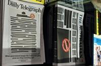 Protes Pemerintah Sembunyikan Kebenaran, Surat Kabar Australia Sensor Halaman Depan