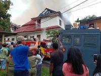 Asrama Mahasiswa di Tomohon Terbakar, Polisi: Akibat Kecerobohan Penghuni