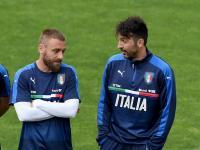 Buffon dan De Rossi Bela Italia di Piala Eropa 2020?
