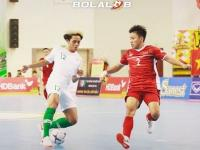 Timnas Futsal Indonesia vs Vietnam Tanpa Gol di Babak Pertama