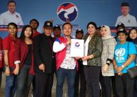 Belasan Balon Kepala Daerah Kembalikan Berkas Formulir ke Perindo Lampung