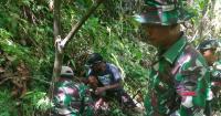 Prajurit TNI Sita Puluhan Amunisi, Mortir dan Roket dari Kebun Warga