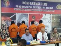 Bareskrim Tangkap 19 Pelaku <i>Illegal Fishing</i>