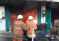 Gudang Bahan Kimia di Ancol Terbakar, 8 Unit Damkar Dikerahkan