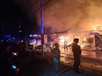 35 Petak Bangunan di Abepura Ludes Terbakar