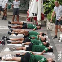 Timnas Indonesia U-22 Langsung Jalani Latihan Ringan di Filipina
