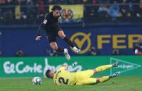 Atletico Madrid vs Villarreal Berakhir Tanpa Gol