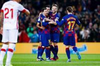 Bungkam Mallorca 5-2, Valverde Puji Gol Suarez dan Hattrick Messi